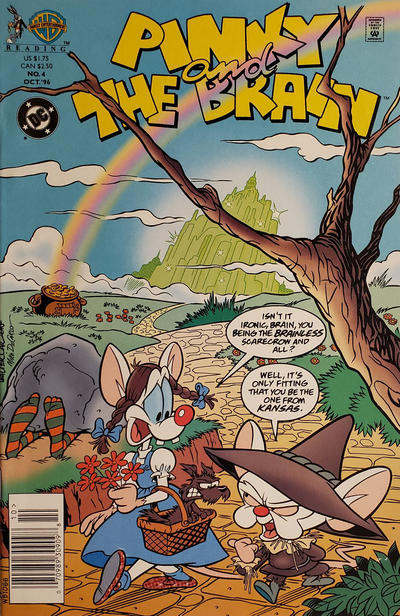 Cover for Pinky and the Brain (DC, 1996 series) #4 [Direct Sales]