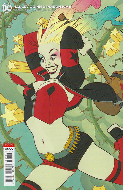 Cover for Harley Quinn & Poison Ivy (DC, 2019 series) #5 [Mikel Janín Cover]