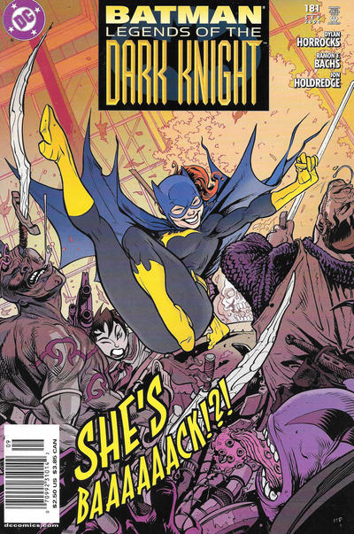 Cover for Batman: Legends of the Dark Knight (DC, 1992 series) #181 [Direct Sales]