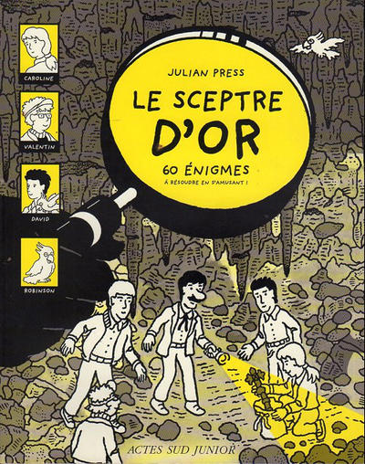 Cover for 60 énigmes (Actes Sud, 1998 series) #3 - Le sceptre d'or