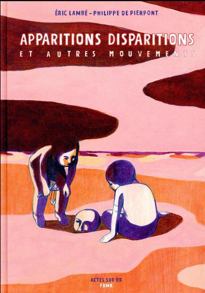Cover for Apparitions, disparitions et autres mouvements (Actes Sud, 2017 series)