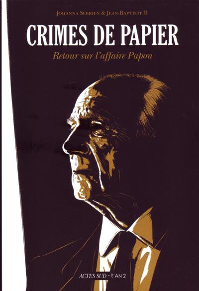 Cover for Crimes de papier (Actes Sud, 2012 series)