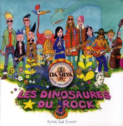 Cover for Les dinosaures du Rock (Actes Sud, 2013 series)