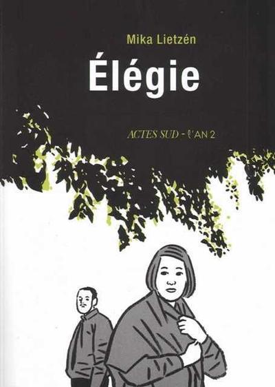 Cover for Élégie (Actes Sud, 2009 series)