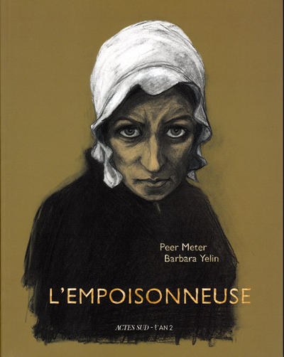 Cover for L'empoisonneuse (Actes Sud, 2010 series)