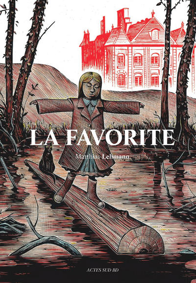 Cover for La Favorite (Actes Sud, 2015 series)