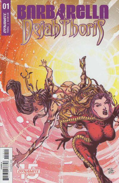 Cover for Barbarella/Dejah Thoris (Dynamite Entertainment, 2019 series) #1