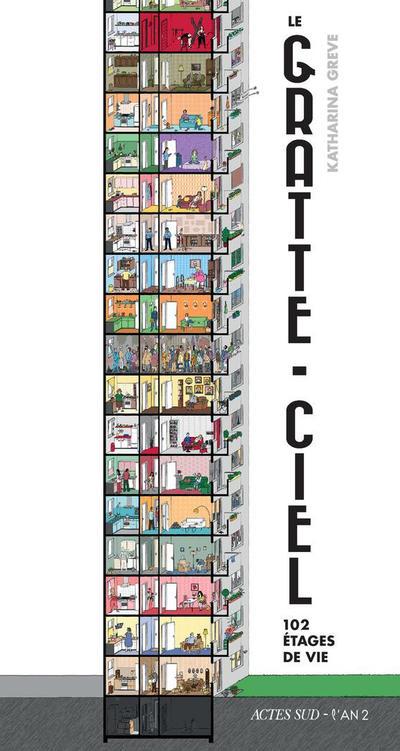 Cover for Le gratte-ciel (Actes Sud, 2018 series)