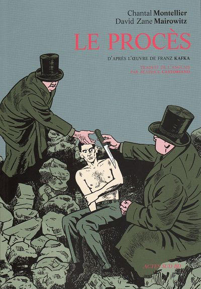 Cover for Le Procès (Actes Sud, 2009 series)