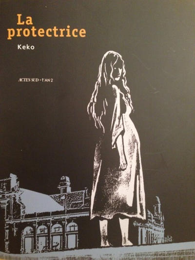 Cover for La Protectrice (Actes Sud, 2012 series)