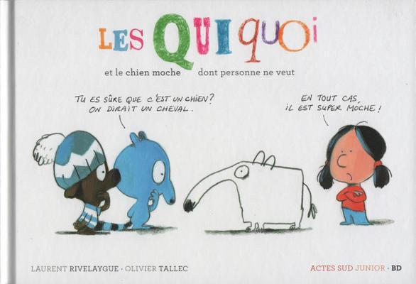 Cover for Les Qui Quoi (Actes Sud, 2018 series)