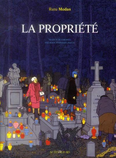 Cover for La Propriété (Actes Sud, 2013 series)