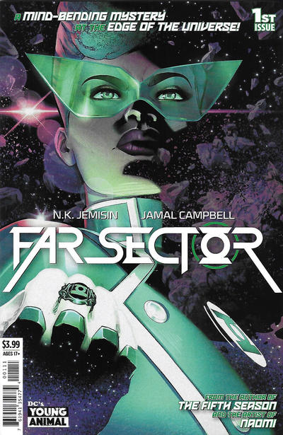 Cover for Far Sector (DC, 2020 series) #1 [Shawn Martinbrough Cover]