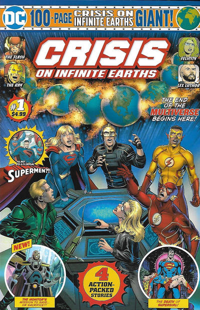 Cover for Crisis on Infinite Earths Giant (DC, 2019 series) #1 [Direct Market Edition]
