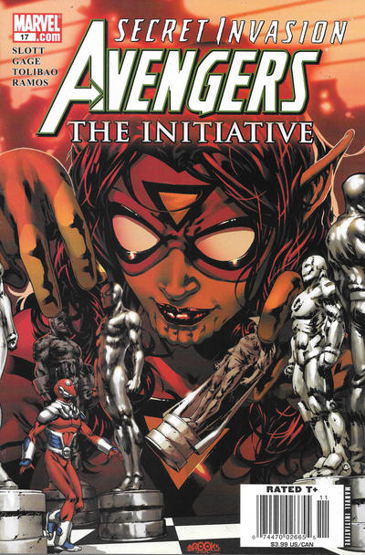 Cover for Avengers: The Initiative (Marvel, 2007 series) #17