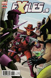 Cover for Exiles (Marvel, 2018 series) #6