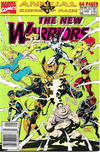 Cover for The New Warriors Annual (Marvel, 1991 series) #1 [Newsstand]