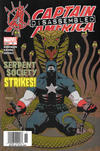 Cover for Captain America (Marvel, 2002 series) #31 [Newsstand]