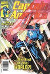 Cover for Captain America (Marvel, 1998 series) #22 [Newsstand]