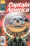 Cover for Captain America (Marvel, 1998 series) #12 [Newsstand]