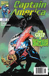 Cover for Captain America (Marvel, 1998 series) #11 [Newsstand]