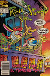 Cover for The Ren & Stimpy Show (Marvel, 1992 series) #3 [Newsstand]