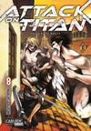 Cover for Attack on Titan (Carlsen Comics [DE], 2014 series) #8