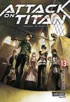 Cover for Attack on Titan (Carlsen Comics [DE], 2014 series) #13