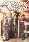 Cover for Attack on Titan (Carlsen Comics [DE], 2014 series) #17