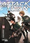 Cover for Attack on Titan (Carlsen Comics [DE], 2014 series) #18