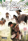 Cover for Attack on Titan (Carlsen Comics [DE], 2014 series) #20