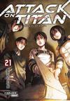Cover for Attack on Titan (Carlsen Comics [DE], 2014 series) #21