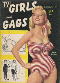 Cover Thumbnail for TV Girls and Gags (Pocket Magazines, 1954 series) #v2#3