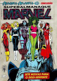 Cover Thumbnail for Superalmanaque Marvel (Editora Abril, 1989 series) #9