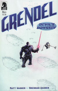 Cover Thumbnail for Grendel: Devil's Odyssey (Dark Horse, 2019 series) #3 [Standard Cover by Matt Wagner]