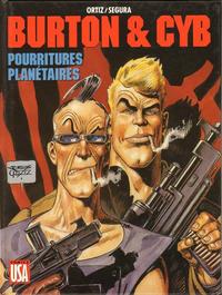 Cover Thumbnail for Burton & Cyb (Comics USA, 1989 series) #4 - Pourritures planétaires