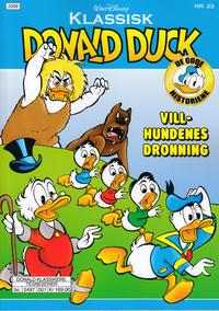 Cover Thumbnail for Klassisk Donald Duck (Hjemmet / Egmont, 2016 series) #22 - Villhundenes dronning