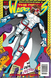 Cover Thumbnail for The New Warriors (Marvel, 1990 series) #43 [Newsstand]