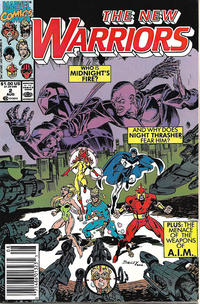 Cover Thumbnail for The New Warriors (Marvel, 1990 series) #2 [Newsstand]