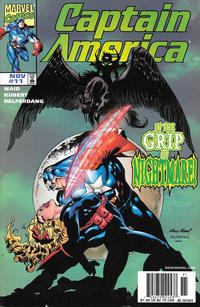 Cover Thumbnail for Captain America (Marvel, 1998 series) #11 [Newsstand]