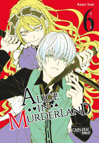Cover Thumbnail for Alice in Murderland (Carlsen Comics [DE], 2016 series) #6