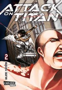 Cover Thumbnail for Attack on Titan (Carlsen Comics [DE], 2014 series) #2