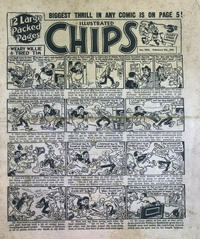 Cover Thumbnail for Illustrated Chips (Amalgamated Press, 1890 series) #2933