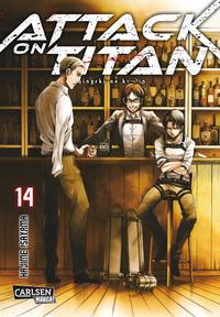 Cover Thumbnail for Attack on Titan (Carlsen Comics [DE], 2014 series) #14