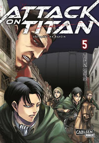 Cover Thumbnail for Attack on Titan (Carlsen Comics [DE], 2014 series) #5
