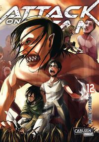 Cover Thumbnail for Attack on Titan (Carlsen Comics [DE], 2014 series) #12
