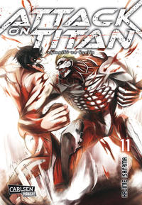 Cover Thumbnail for Attack on Titan (Carlsen Comics [DE], 2014 series) #11
