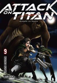 Cover Thumbnail for Attack on Titan (Carlsen Comics [DE], 2014 series) #9