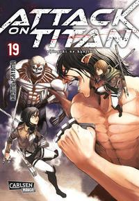 Cover Thumbnail for Attack on Titan (Carlsen Comics [DE], 2014 series) #19