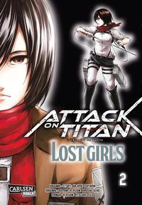 Cover Thumbnail for Attack on Titan - Lost Girls (Carlsen Comics [DE], 2017 series) #2